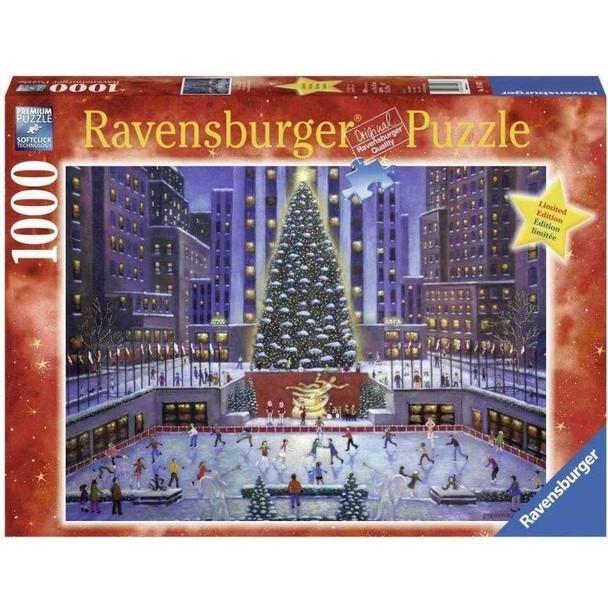 Rockefeller Center Tree 1000pc Puzzle