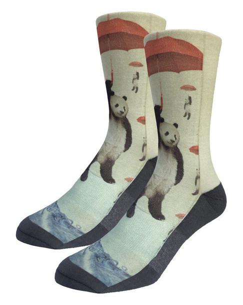 Panda Storm Socks