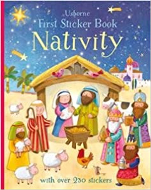 Nativity First Sticker book