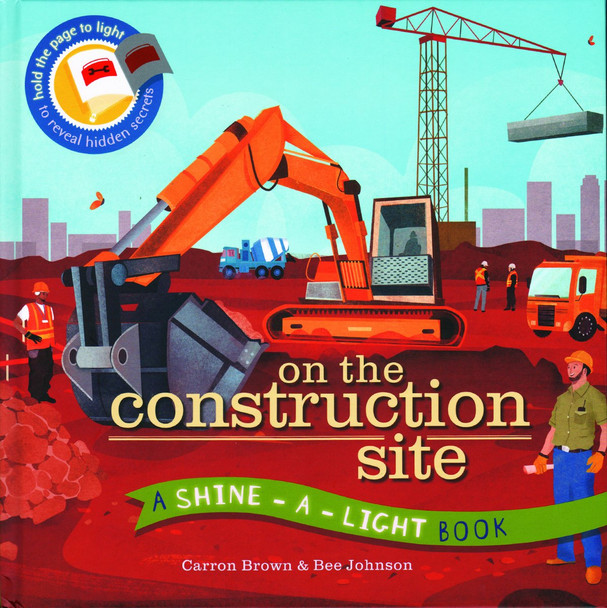 Construction Shine a Light Book