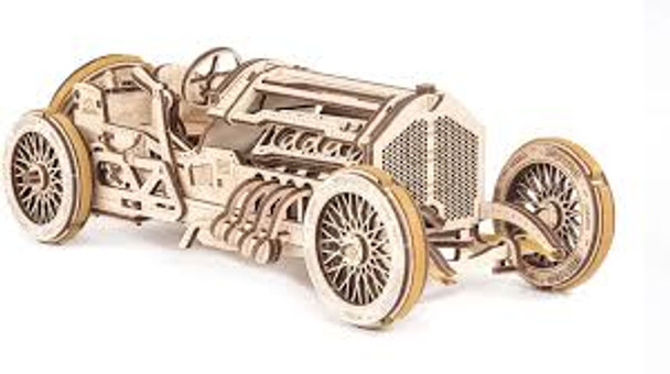 UGears Grand Prix Car Model