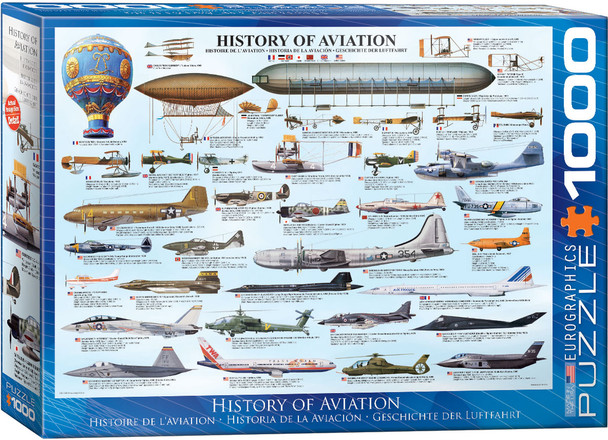 History of Aviation 1000pc Puzzle
