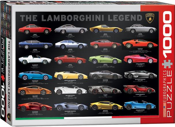 Lamborghini Legend 1000pc Puzzle