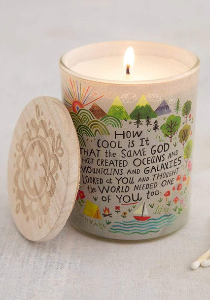God Created You Soy Candle