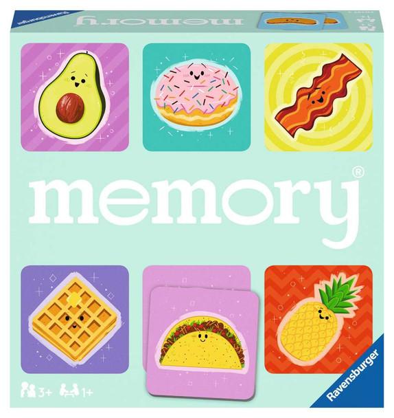 Favorite Foodies Memory Game