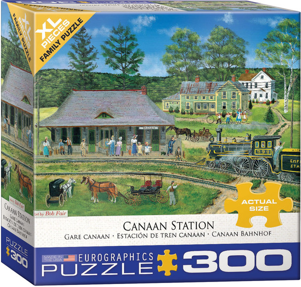 Canaan Station 300pc Puzzle