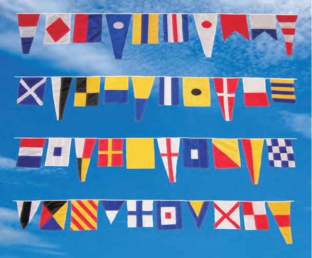 String of 40 Maritime Flags