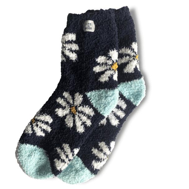 Women's Snuggle Daisy Socks