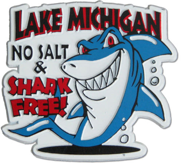 No Salt & Shark Free Magnet