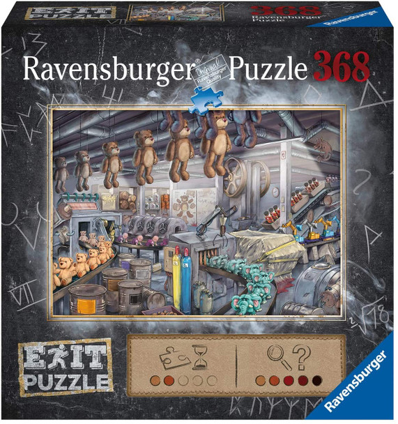 The Art Studio Escape 368pc Puzzle