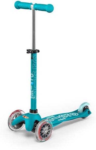 Deluxe Aqua Mini Kick Scooter