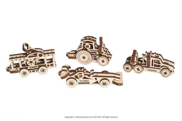 UGears Mini Models Vehicles