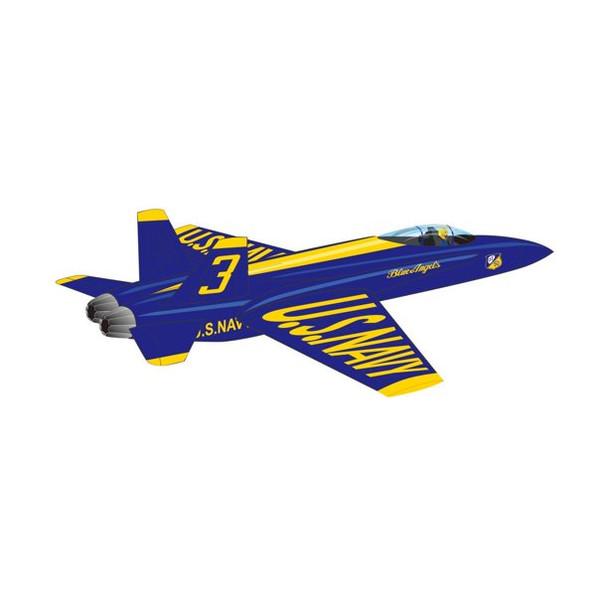 Windforce 3-D Nylon Kite Blue Angel