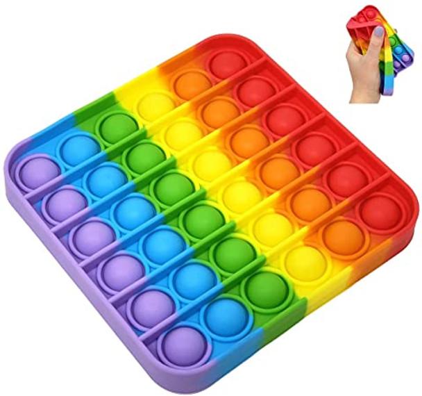Pop It Rainbow Square Fidget