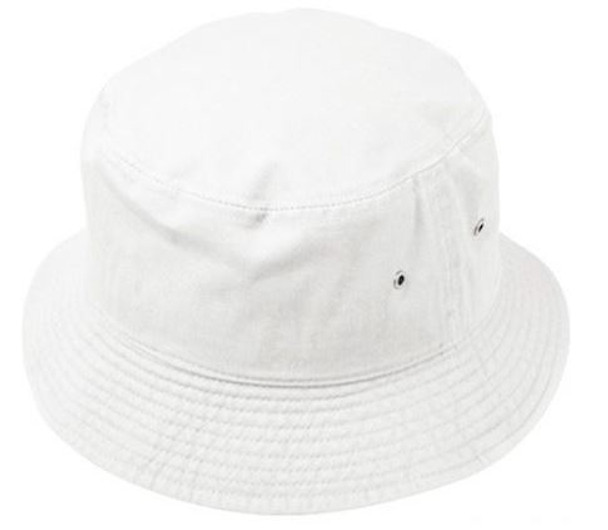 White Bucket Hat