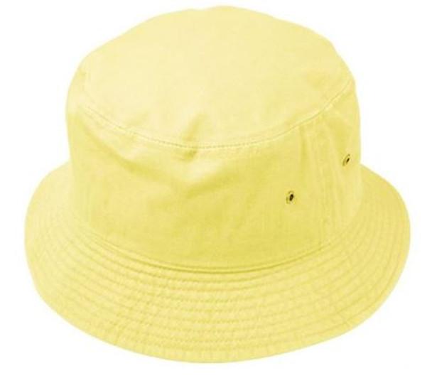 Banana Yellow Bucket Hat