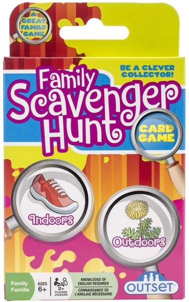 Family Scavenger Hunt Cards