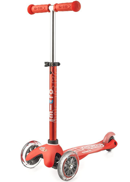 Mini Deluxe Scooter-Red