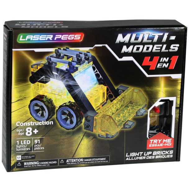 Laser Pegs 4 in 1 Mini Construction Set