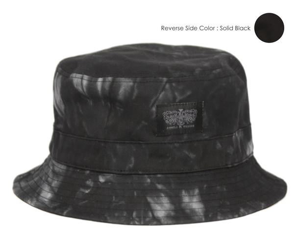 Black/Tie Dye Bucket Hat