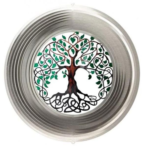 Tree of Life Mini Wind Spinner