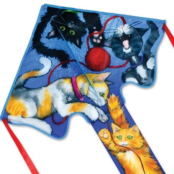 Cats Large Easy Flyer Kite