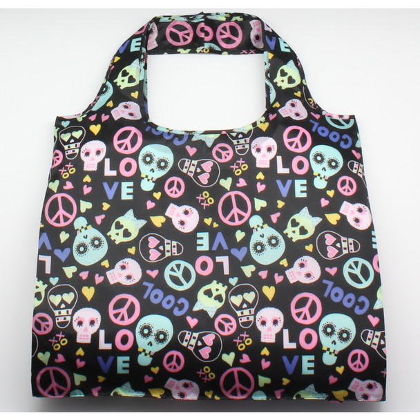 Skulls Reusable Tote Bag