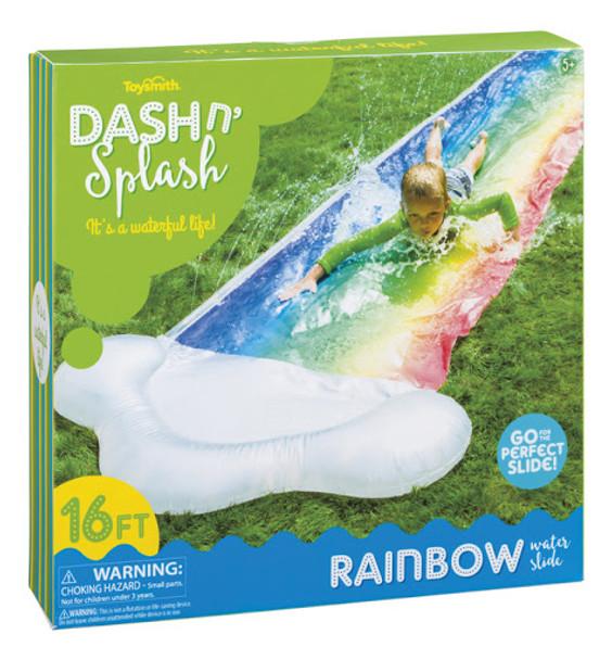 Dash n' Splash Rainbow Water Slide