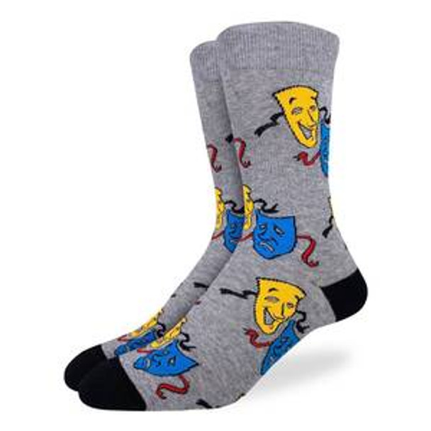 Drama Masks Small Socks