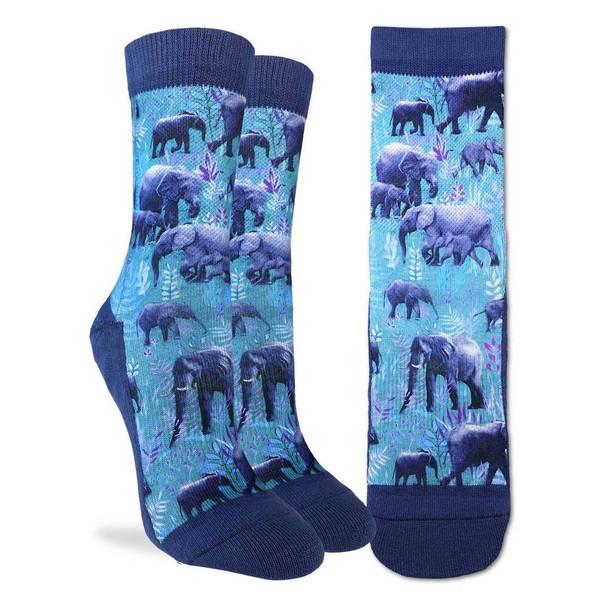 Elephant Herd Small Socks
