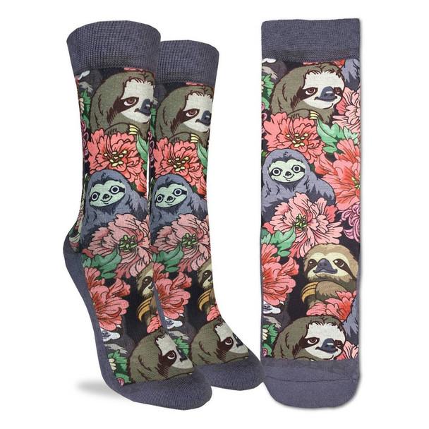 Floral Pandas Small Socks