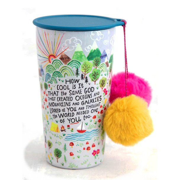 Stainless Steel PomPom Tumbler - How Cool Is It