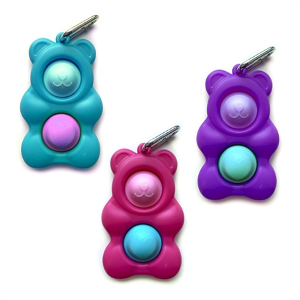 Gummy Bear Pop Keychain Fidget