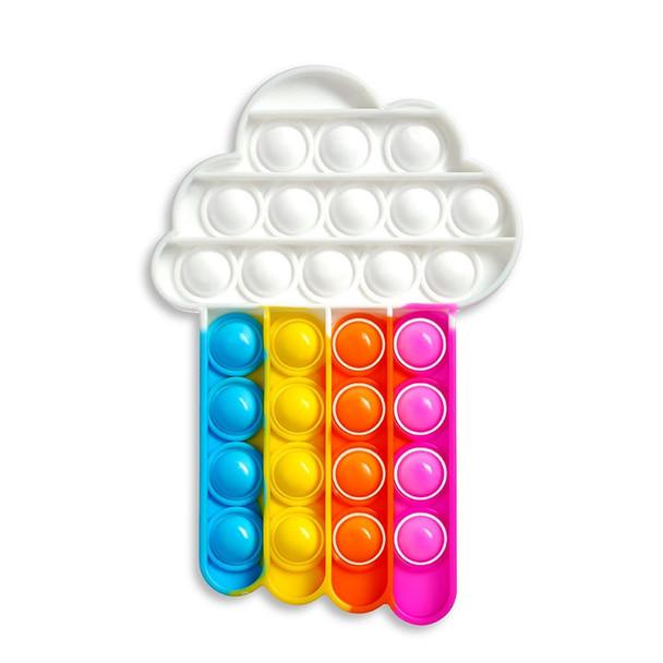 Pop Fidgety - Rainbow Cloud