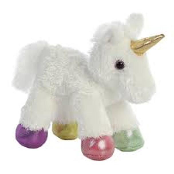 Prism Unicorn Flopsie Plush