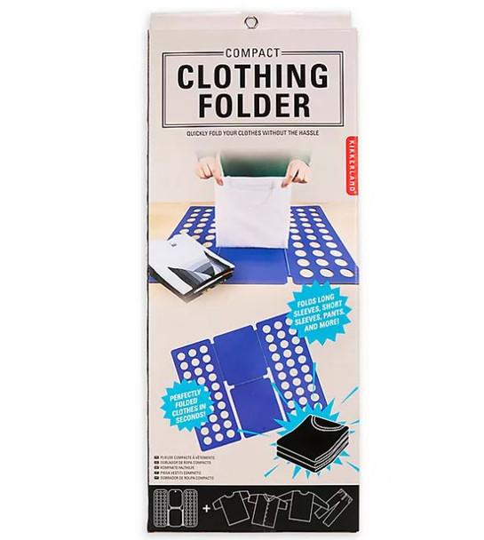 Compact Clothing Folder