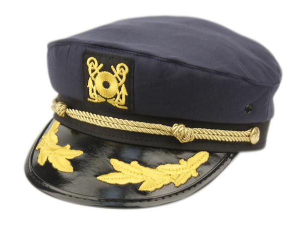 Captain's Hat - Blue
