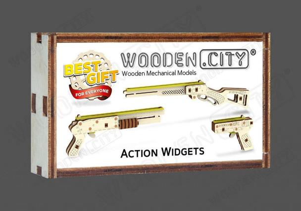 Wooden City Action Widgets