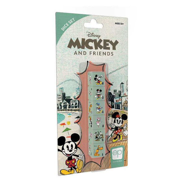 Mickey and Friends Dice Set
