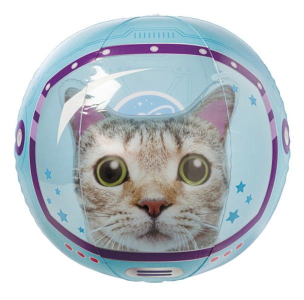 Space Cat Beach Ball