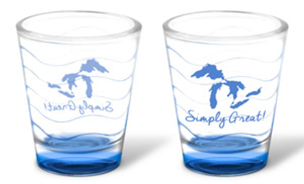 Simply Great! Shot Glass