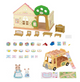 Calico Critters Forest Nursery Gift Set - Box Contents