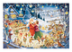 Santa's Christmas Party 1000pc Puzzle - Completed