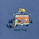 Jake & Rocket Road Trip retro long sleeve tee