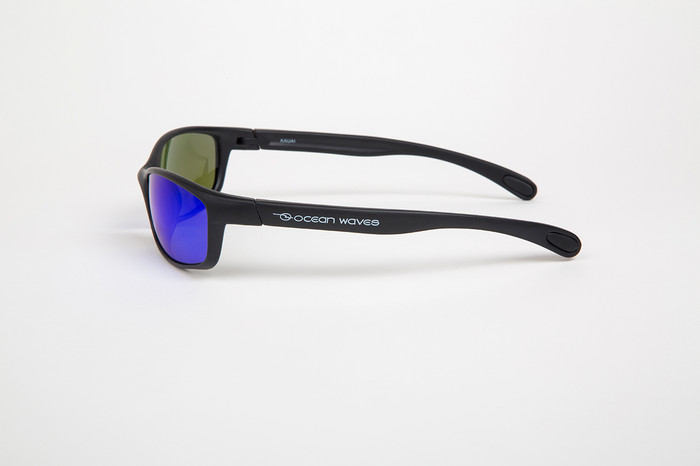 aa98415634 ... Black frame with Glass Offshore Blue lenses ...