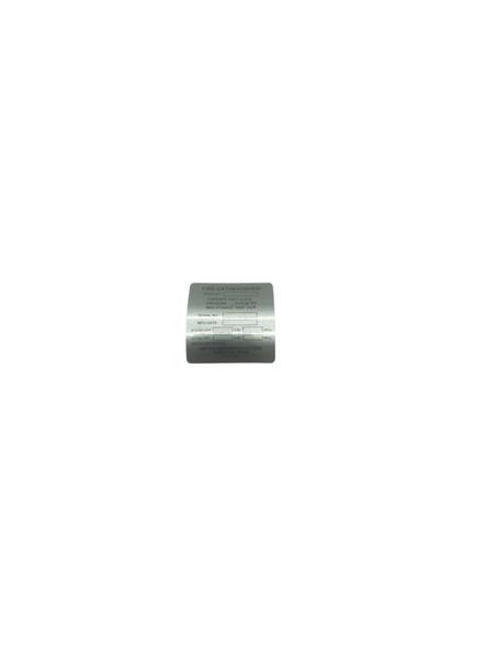 FX00318-1 ID Plate