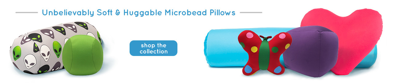 Unbelievably Soft Huggable Microbead Pillows