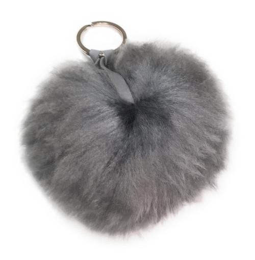 Suri baby Alpaca Fur Luxury Pom Pom Poofs