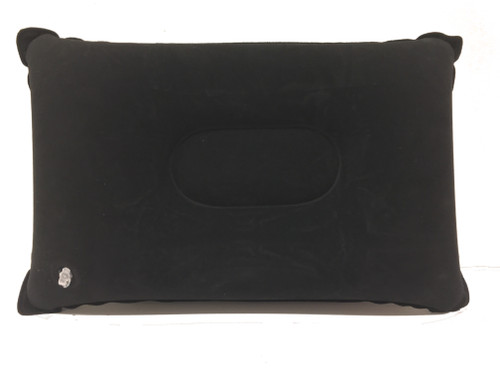 Inflatable Rectangle Travel & Camping Pillow - Black