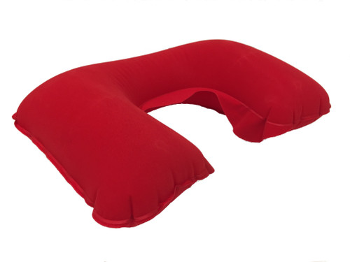inflatable neck pillow - red